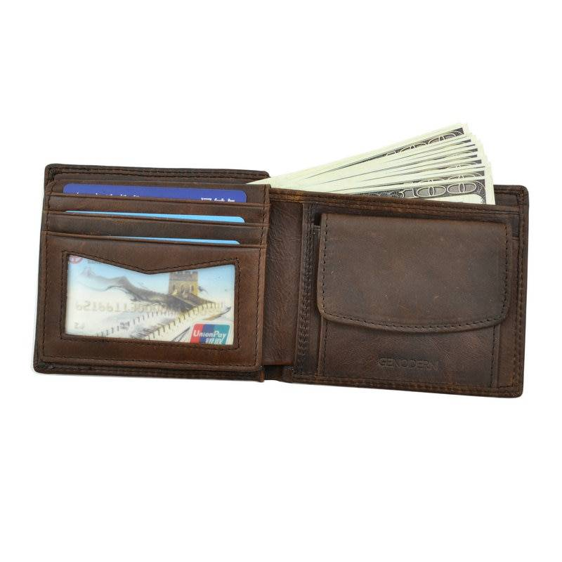 Minimalistic Leather Wallet for Men