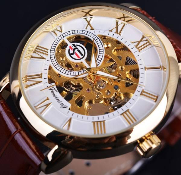 Dress Skeleton Mechanical Watches